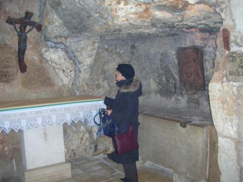Aida nella basilica della nativitò