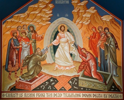 Gesù con i morti